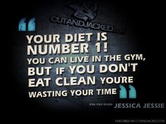 You can't outtrain a bad diet.