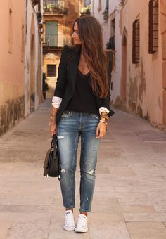 simple and casual #fashion #style
