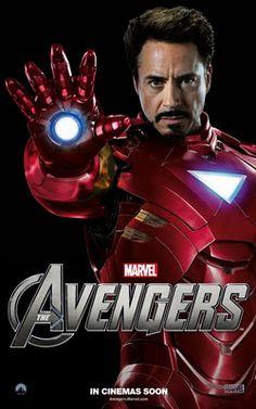 tony iron stark man