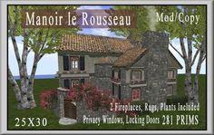 Manoir le Rousseau | Coeur Virtual Worlds