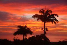 Breathtaking Sunset off Nevis - Montpelier Plantation & Beach hotel