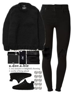 """""""✿ Drake bday ✿"""" by fuckedchanel ❤ liked on Polyvore featuring (+) PEOPLE, adidas Originals, MAKE UP FOR EVER, October's Very Own, ADAISM and Topshop"""