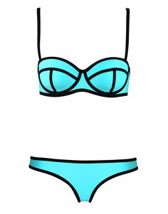 I want this bathing suit so badly when I lose all my weight and get skinny. MILLY - SANTA ROSA SPLASH