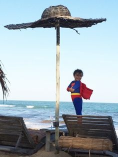 Bahian superman taking over our beach sofas #UXUA #Trancoso #Bahia
