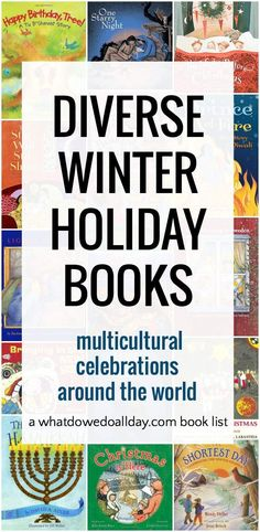 Diverse picture books for winter holidays with a multicultural perspective.