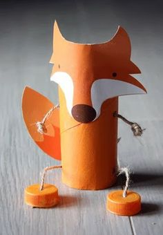 Riciclare rotoli di carta igenica - a cura di http://marziacreazioni.blogspot.it/