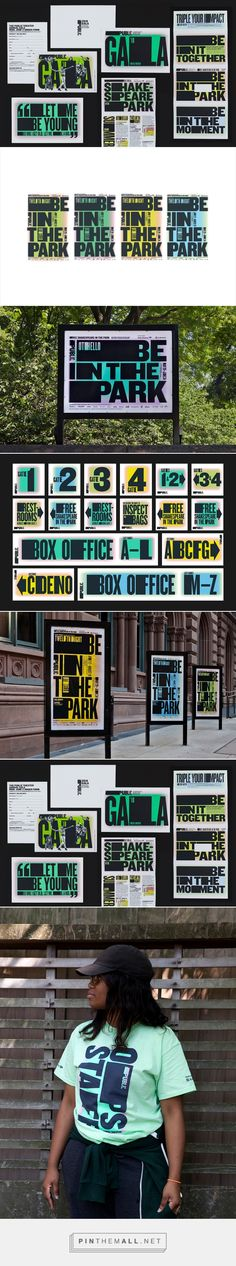 New Campaign for Shakespeare in the Park 2018 by Pentagram — BP&O... - a grouped images picture - Pin Them All