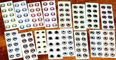 Deer Creek Gator Eyes-Fly Tying  https://fishingrodsreelsandgear.com/product/deer-creek-gator-eyes-fly-tying/  Photo realistic Self adhesive HUGE color range.
