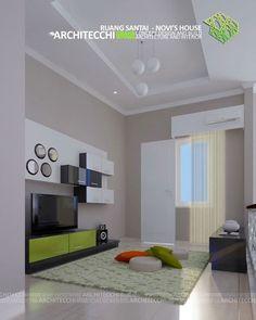#Arsitek #DesainInterior #InteriorMinimalis #RuangSantai #Architecchi