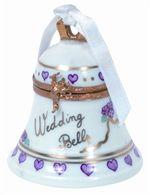Wedding Bell Genuine Limoges Box