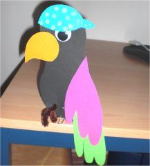Piraten papegaai