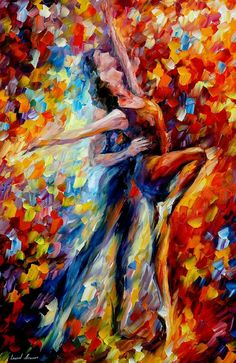 Red Art Work Dance Oil Painting On Canvas By Leonid Afremov – Toward The Sun Light. Size: x x Red Art Work Dance Oil Painting On Canvas By Leonid Afremov – Toward The Sun Light. Amazing Paintings, Original Paintings, Dance Paintings, Oil Paintings, Large Artwork, Palette Knife Painting, Red Art, Oil Painting Reproductions, Leonid Afremov Paintings