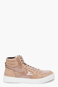 YVES SAINT LAURENT Desert Beige Malibu Sneakers