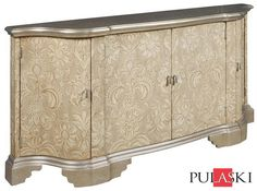 Damask Accent Cabinet