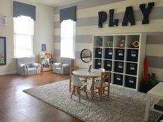 Superieur Project Nursery   Navy And Gray Boys Playroom   Project Nursery
