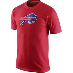 Buffalo Bills Nike Men's Fast Logo T-Shirt – Red