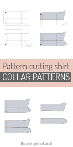 Learn how to pattern cut with our online inspiration, ebooks and course. We make pattern cutting easy to understand and with a zero-waste, ethical stance. Online Tutorials, Sewing Tutorials, Sewing Tips, Shirt Collar Pattern, Pattern Cutting, Pattern Drafting, Sewing Projects For Beginners, Fashion Sewing, Learn To Sew
