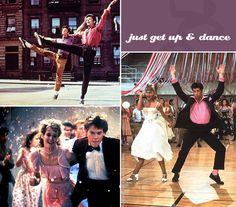 movie dancing montage film: love the idea to project on a wall at a party/reception during the dancing hour.