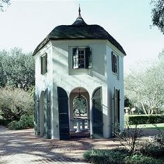 Houmas House Plantation Batchelor Quarters | Content in a Cottage I love this!!  I want one!!!