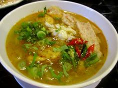 Welcome to Eatlover Kitchen: BÁNH CANH CUA CHẢ TÔM & CÁ