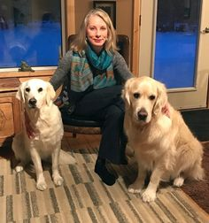 Most people are less intimidated by dogs with floppy ears, and consider white dogs less scary than black ones. That& just one awareness Angela Neufeld has picked up in the years she has been using dogs as therapeutic assistants in her practice as. Yukon Territory, White Dogs, Scary, Labrador Retriever, People, Animals, Black, Labrador Retrievers, Animaux