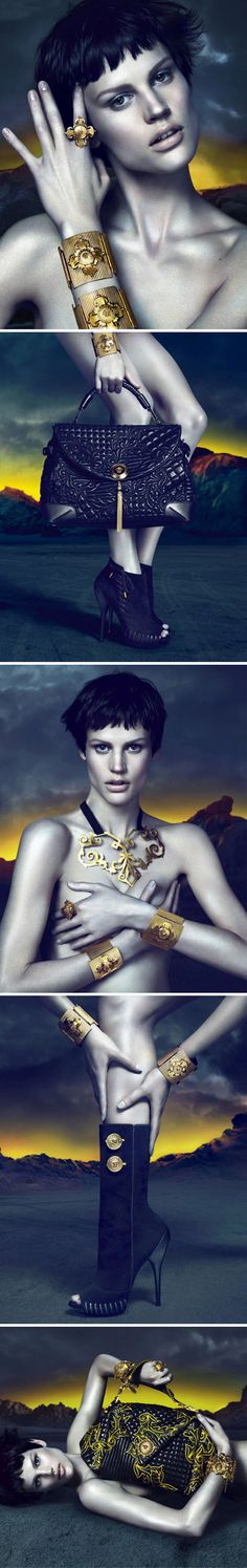 Versace Accessories....scroll down to the neckpiece.  It's all about that fantastic design!