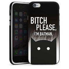 Silikon Case black / white Apple Iphone, Youtuber, Im Batman, Statements, Black And White, Stuff To Buy, Blanco Y Negro, Black N White