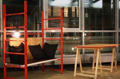 BUILDING SITE AHEAD - POP-UP | SCENOGRAPHY : PRINZTRÄGER | Rauminszenierung und Design