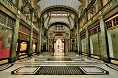 Galleria San Federico #Torino #Turin #Piemonte #lamiatorino Photocredit Flickr Crash Test Mike