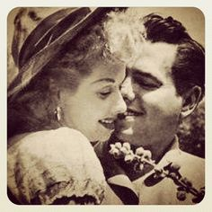 Lucille Ball And Desi Arnaz, I want a picture just like this of me and my husband every anniversary <3 My all time favorite couple!!