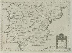 Mapa de los obispados en tiempos de los Godos
