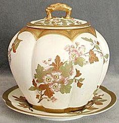 Vintage Biscuit Jar | Vintage Biscuit Jars. Love. / Vintage Royal Worcester Biscuit Jar