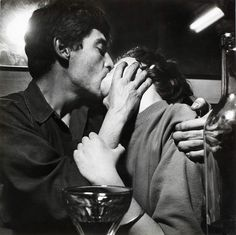 """Nan Goldin writes about the photographer Ed van der Elsken's classic book """"Love on the Left Bank,"""" which depicts life in Paris. Love Couple, Gay Couple, Couple Goals, Couple Kissing, Men Kissing, Robert Mapplethorpe, Arte Jazz, Exposition Photo, Patti Smith"""