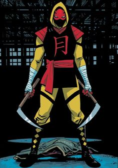 Ikari from Daredevil by Chris Samnee Marvel Dc, Punisher Marvel, Marvel Comic Universe, Marvel Heroes, Daredevil Suit, Daredevil Yellow, Daredevil Elektra, Avengers Alliance, Superhero Characters