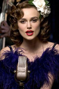Keira Knightley in 'The Edge of Love', 2008.
