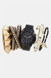 Stacked wrist combos - Michael Kors Watch & Bracelets