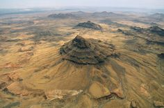 Aerial view over Spitzkoppe by Christian Heeb on artflakes.com as poster or art print $18.03