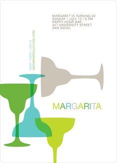 Margaritaville Party Invitation