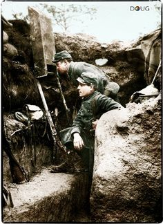 WW1 French Trench (c.1915)