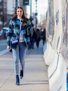 My Day 1 Look for NYFW The Latest Street Style Photos From New York Fashion Week via @WhoWhatWear