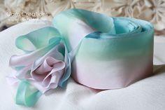 Bias Cut Silk Ribbon