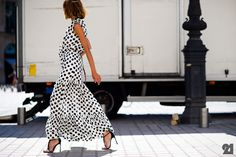 Polka dot dress wonderful