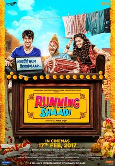 Watch Running Shaadi (2017) Full Movie HD Free Download