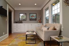 The Wall Paint Is Sherwin Williams Sw Functional Gray Sheen Egg Shell Satin Millwork And Cabinets Are Snowbound