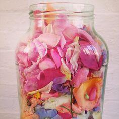 Jar of petals