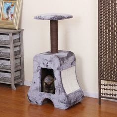 """Fender+40""""+Cat+Tree+by+PetPals+pp5481"""