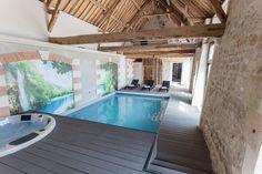 Location vacances gîte Noyant-et-Aconin: Espace Bien-Être : Piscine intérieure chauffée, Spa, Hammam, Sauna, Soins corps
