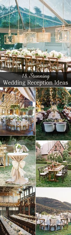 top 18 stunning wedding reception decoration ideas for your big day
