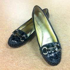 Coach black loafers at Clothes Mentor North Richland Hills