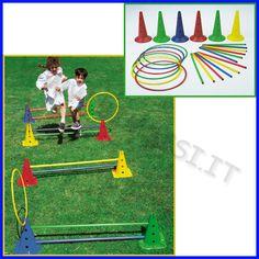 Kit psicomotorio Saltarello per creare infiniti percorsi motori per bambini